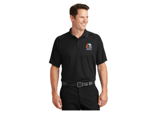 Aquatex Water Polo Custom Black Men's Polo Shirt