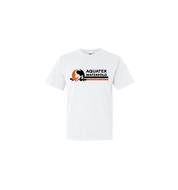 Aquatex Water Polo Custom White Cotton Unisex T-Shirt