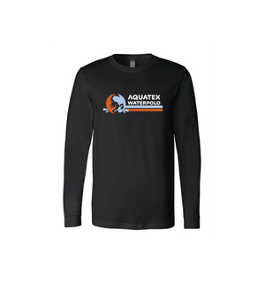 Aquatex Water Polo Custom Black Unisex Jersey Long Sleeve Tee