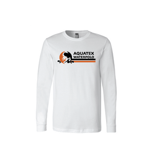 Aquatex Water Polo Custom White Unisex Jersey Long Sleeve Tee