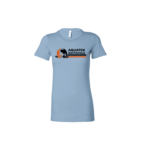 Aquatex Water Polo Custom Blue Women's Favorite Tee