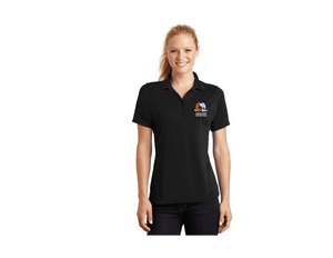 Aquatex Water Polo Custom Black Women's Polo Shirt