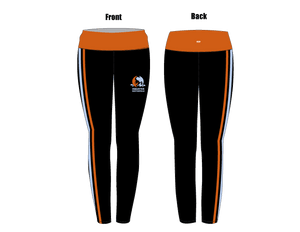 Aquatex Water Polo Custom Mid-Rise Full Length Leggings