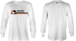 Aquatex Water Polo Custom White Dri-Fit Long Sleeve T-Shirt