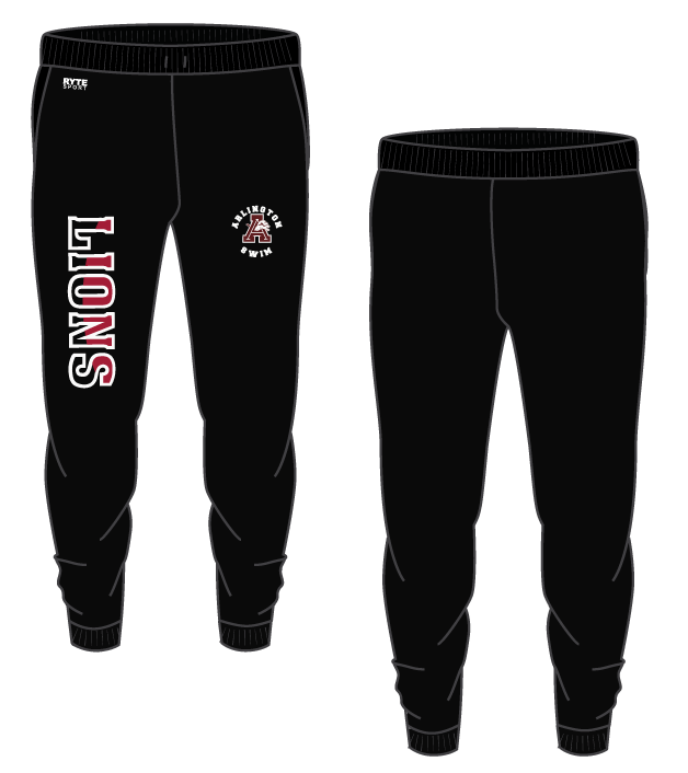 Arlington High School Swim 2021 Custom Adult Unisex Jogger Sweatpants