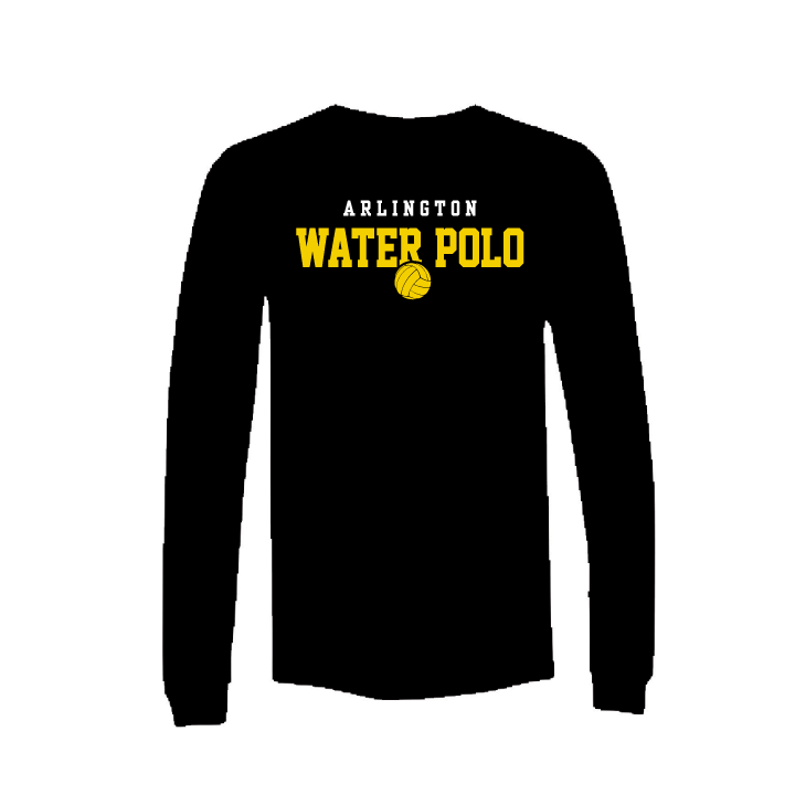 Arlington High School Water Polo 2019 Custom Black Dri-Fit Long Sleeve