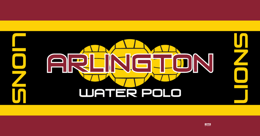 Arlington High School Water Polo 2019 Custom Towel - Personalized
