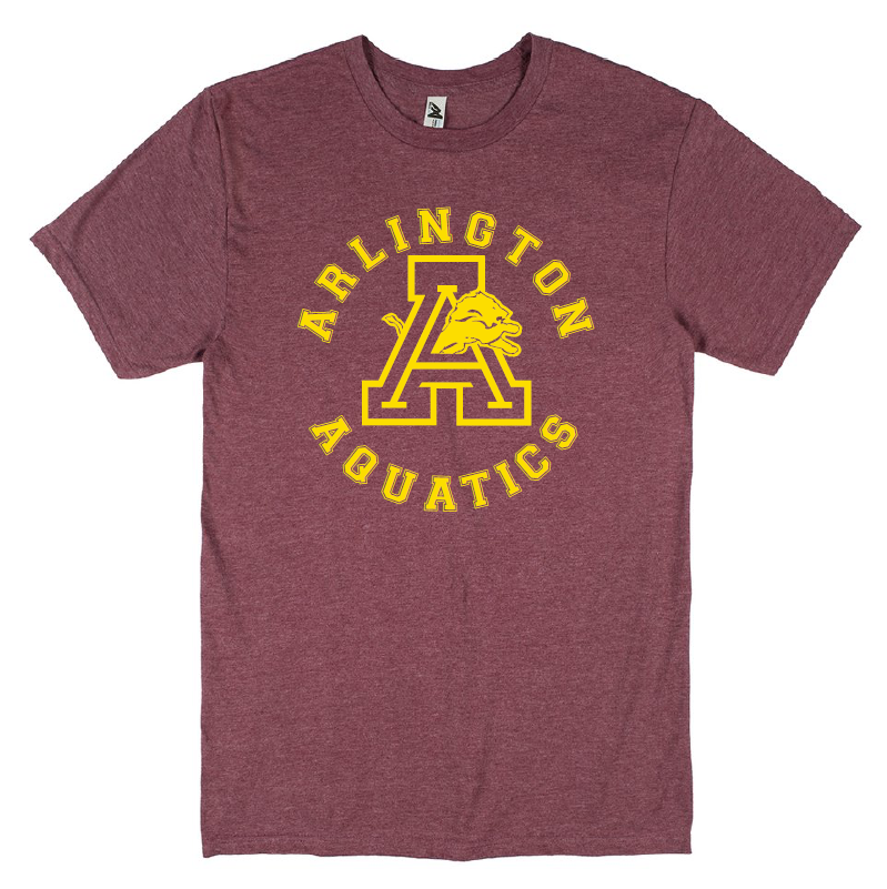 Arlington High School 2019 Swim Team Adult Unisex T-Shirt