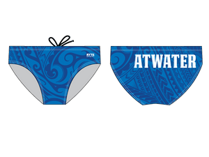 Atwater High School  Custom Men's Swim Brief - Personalized