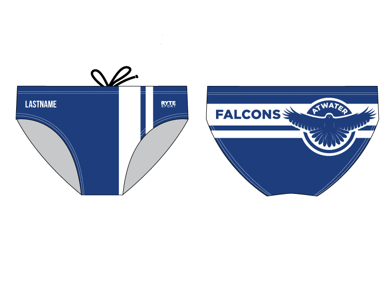 Atwater High School Men's Swim Brief 2019