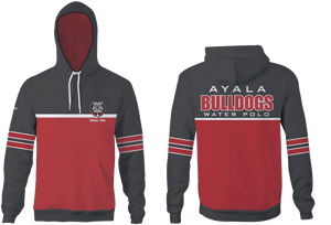 Ayala High School Water Polo 2019 Custom Heathered Charcoal Unisex Adult Hooded Sweatshirt - Personalized