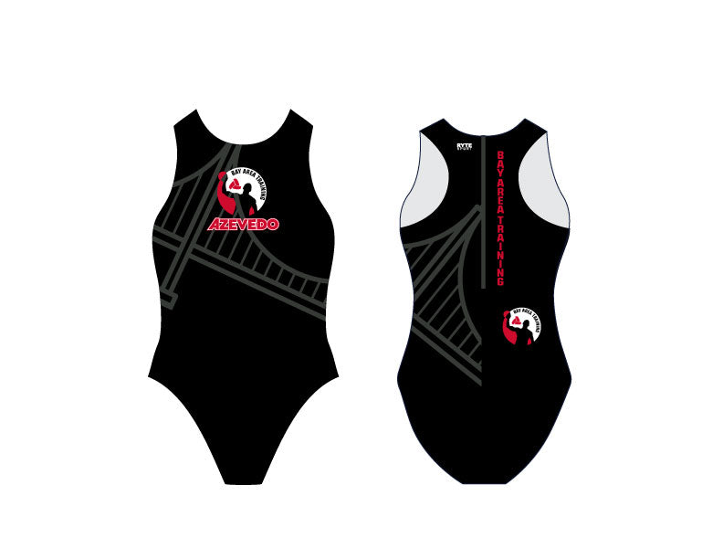6-8 Training Camp Bay Area Custom Women's Water Polo Suit