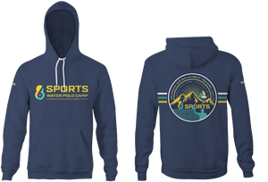 6-8 Sports Training Camp - Colorado Custom Heathered Blue Unisex Adult Hooded Sweatshirt