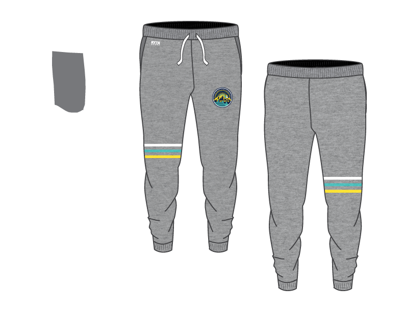 6-8 Sports Training Camp - Colorado Custom Adult Unisex Heathered Jogger Sweatpants