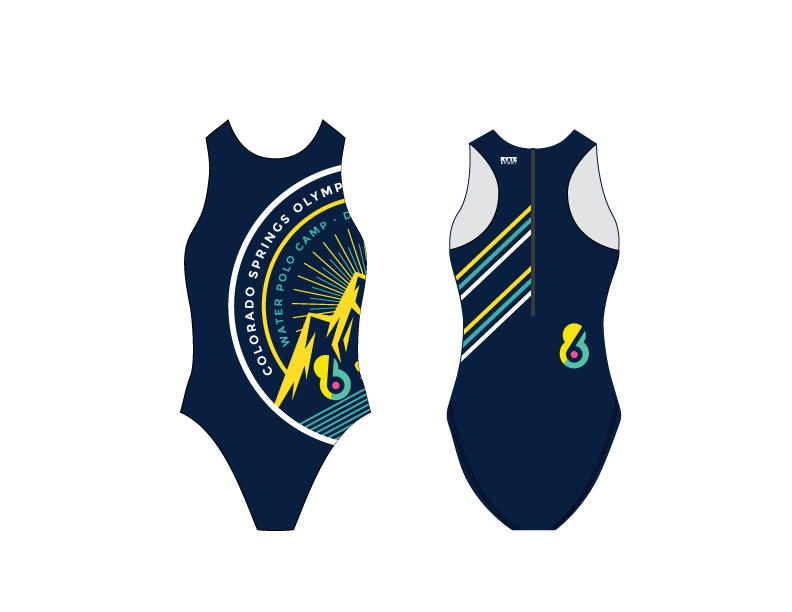 6-8 Sports Water Polo Camp - Colorado Custom Women's Water Polo Suit