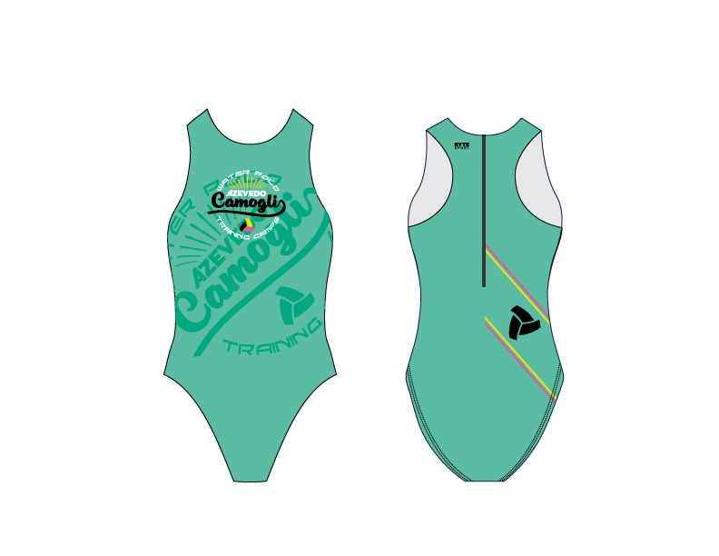 Camogli Training Camp Green Women's Water Polo Suit