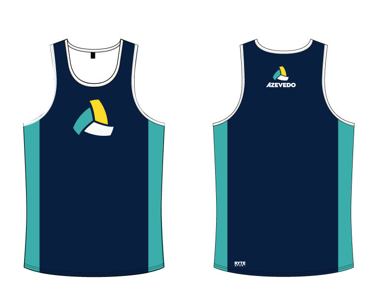 Azevedo Water Polo Navy Men's Tank Top