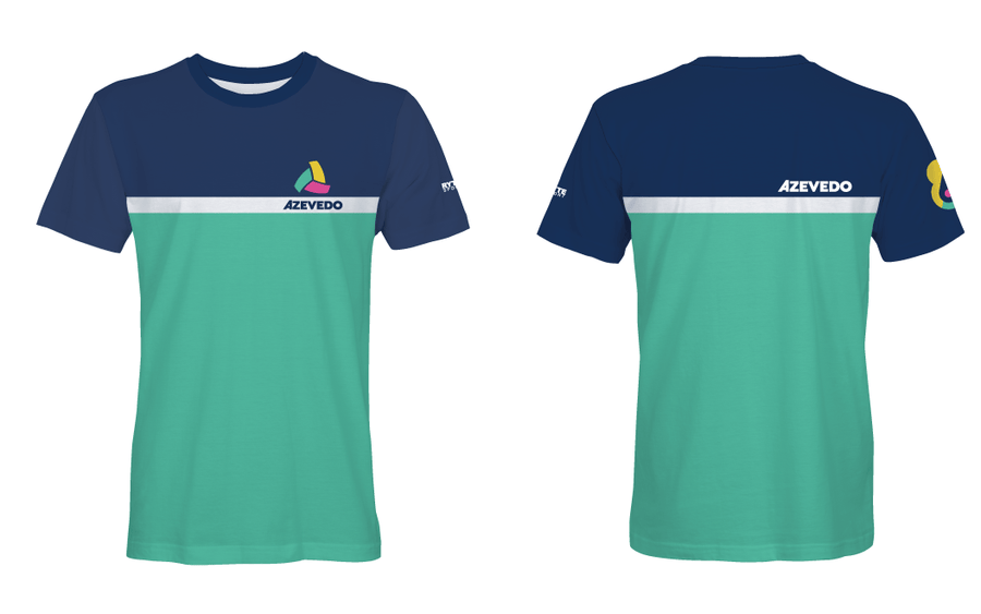 Azevedo Navy Green Unisex T-Shirt