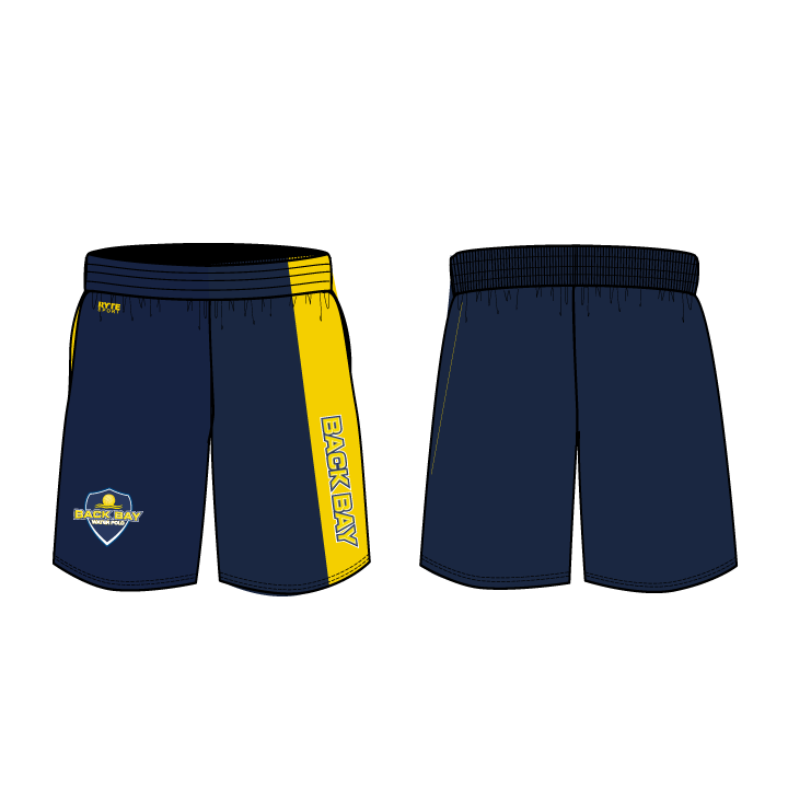 Back Bay Water Polo 2019 Custom Men's Gym Short