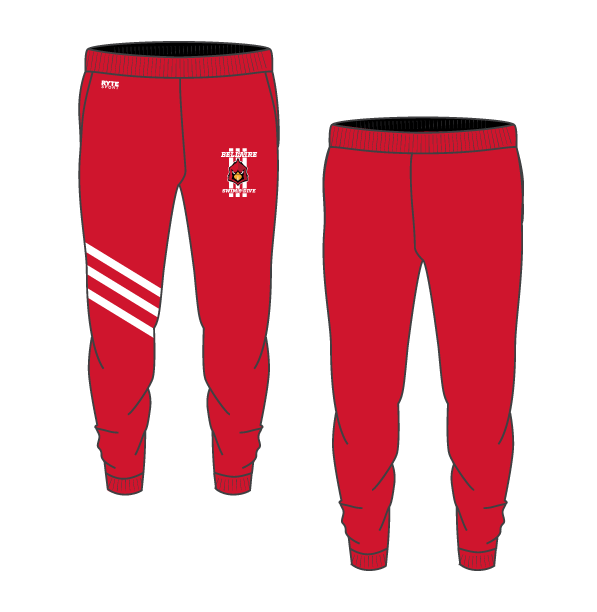 Bellaire Swim and Dive Adult Unisex Heathered Jogger Sweatpants