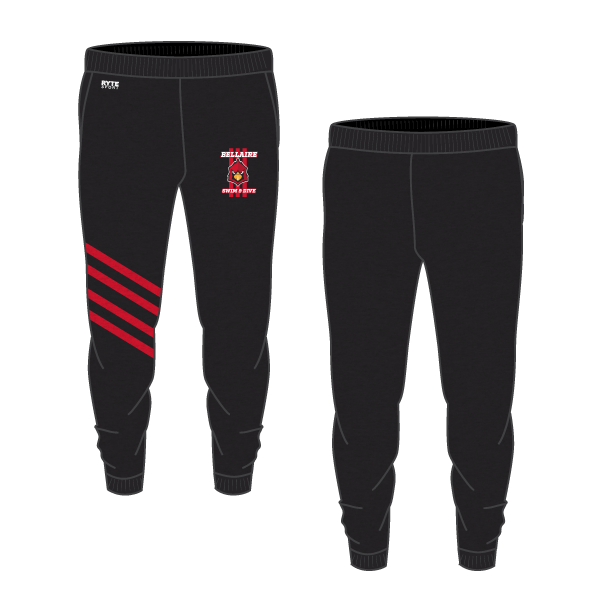 Bellaire Swim and Dive Adult Unisex Jogger Sweatpants