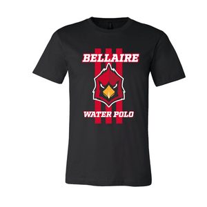 Bellaire Water Polo Black Cotton Unisex T-Shirt