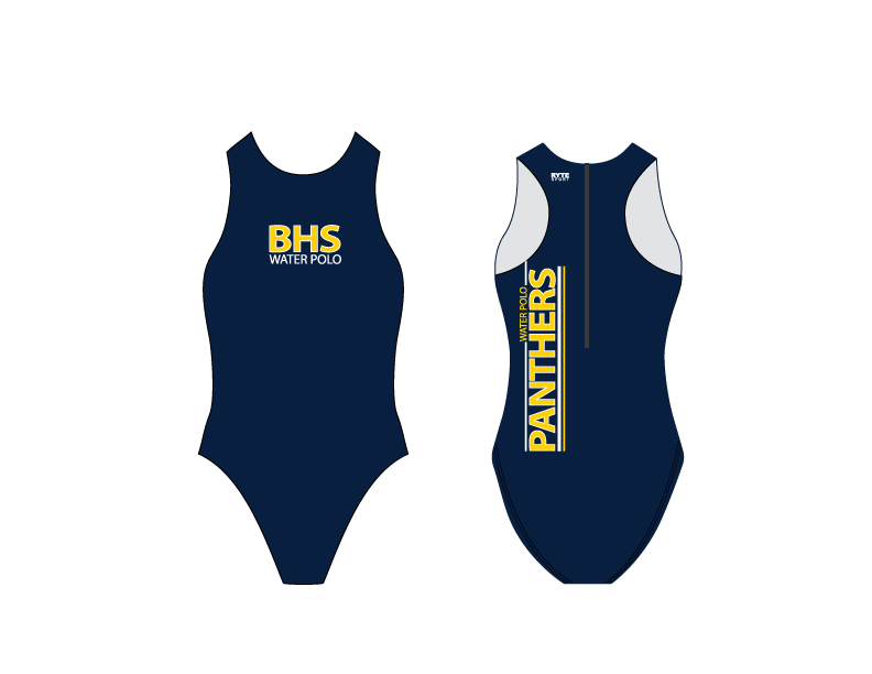 Benicia High School Custom Women's Water Polo Suit *ADD YOUR NUMBER*