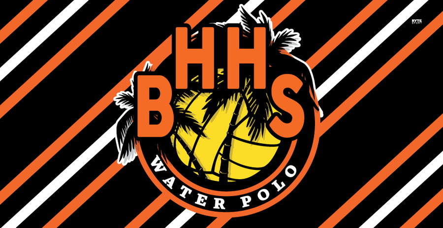 Beverly Hills High School Water Polo 2020 Custom Towel - Personalized