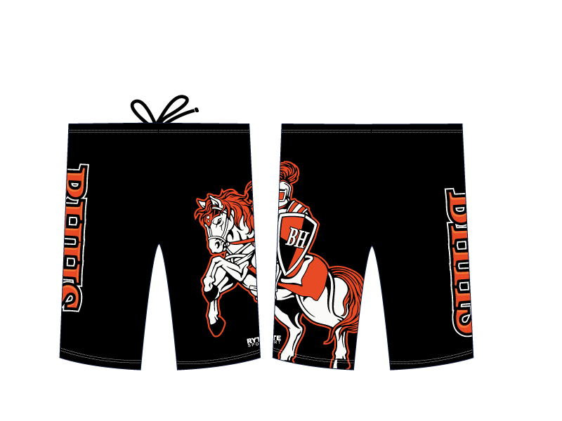 Beverly Hills High School Swim 2020 Custom Men's Jammer