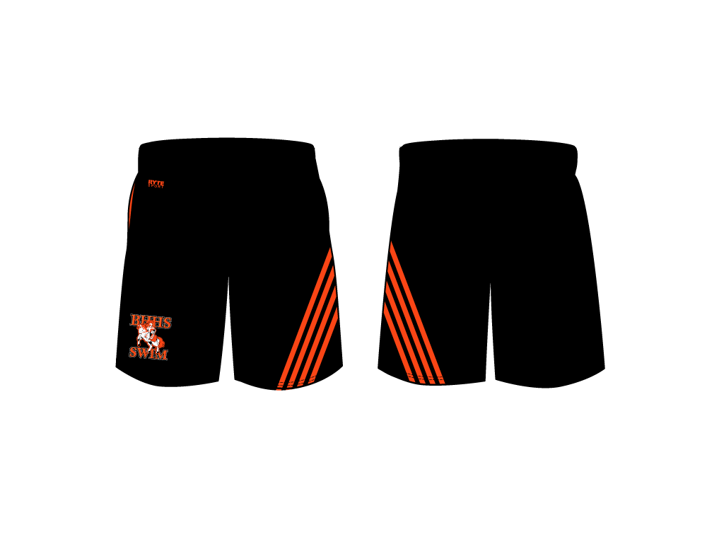Beverly Hills High School 2019 Swim & Dive Team Men's Gym Short