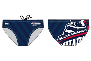 Bolsa Grande High School Swim 2020 Custom Men's Swim Brief