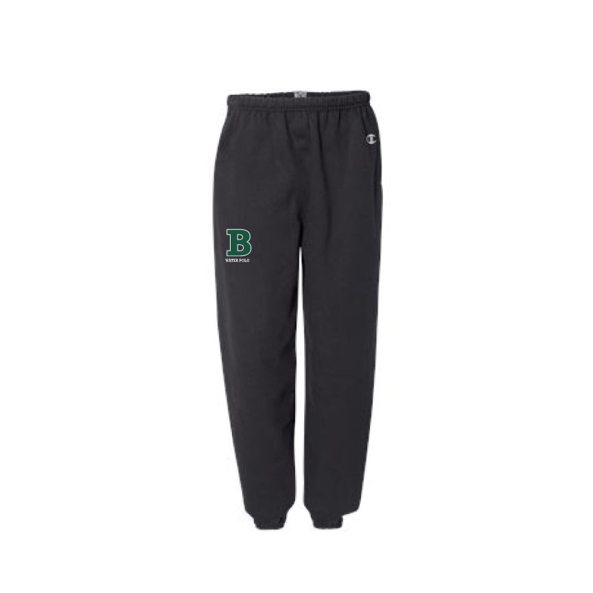 Bonita High School Water Polo 2019 Custom Black Joggers *CLOSE DATE TO PURCHASE IS 11/20*