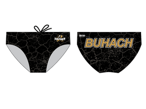 Buhach Colony High School Water Polo 2019 Custom Men's Water Polo Brief - Personalized