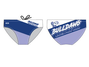 Bulldawg Water Polo Club 2019 Custom Men's Water Polo Brief