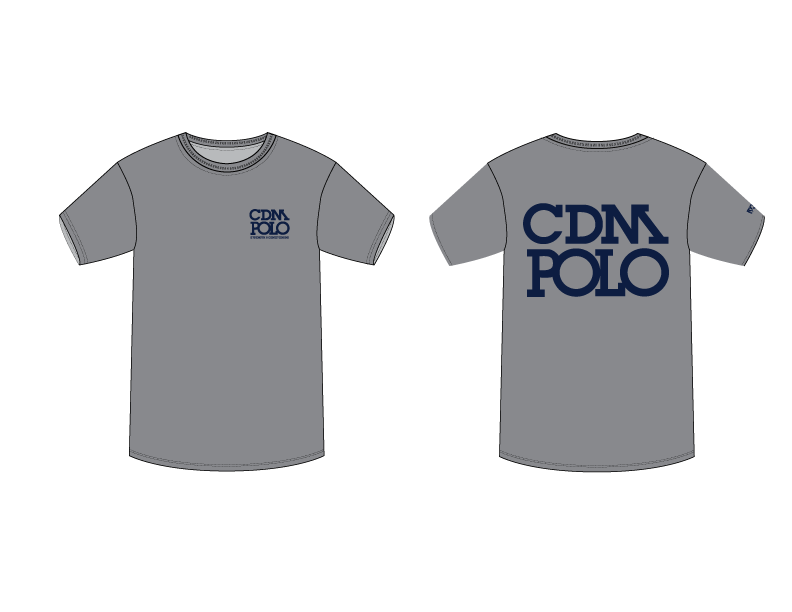GRAY CDM High School Water Polo Strength & Conditioning Men's T-Shir
