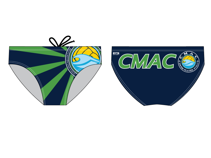CMAC Men's Swim & Water Polo Brief - Personalized