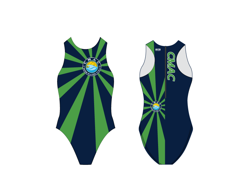 CMAC Custom Women's Water Polo Suit -  Personalized