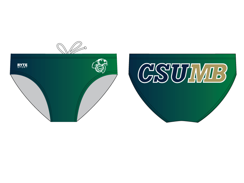CSUMB Club Water Polo Custom Men's Water Polo Brief