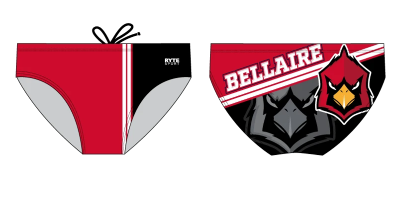 Bellaire Water Polo Brief - Personalized
