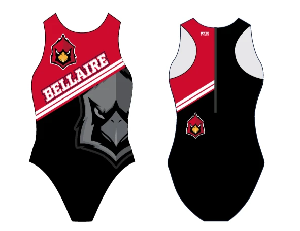 Bellaire Custom Women's Water Polo Suit - Personalized