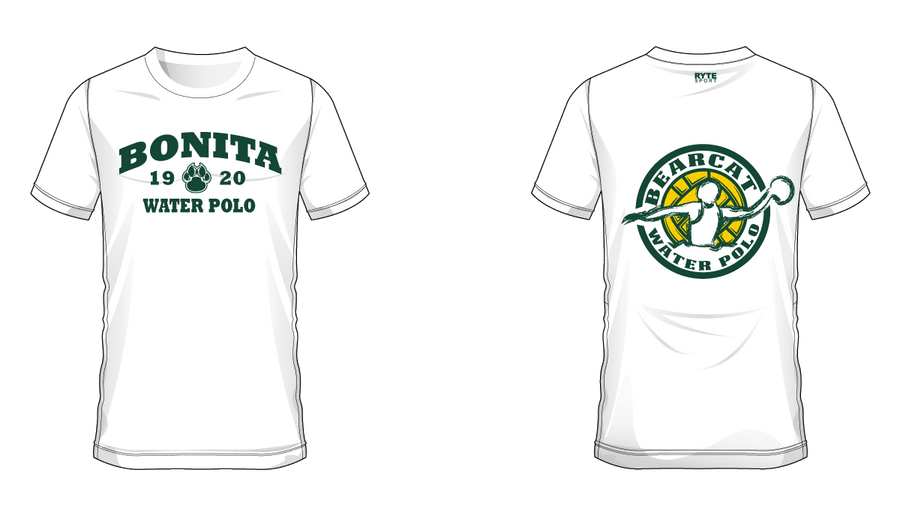 Bonita High School Water Polo 2019 Custom Dry Fit Jersey - Personalized