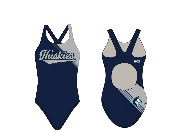 Chino Hills High School Swim 2020 Custom Thick Strap Women's Swim Suit - Personalized