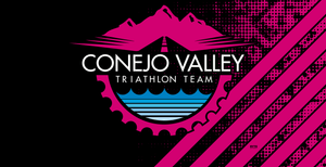 Conejo Valley Triathlon Team 2020 Pink Custom Towel - Personalized