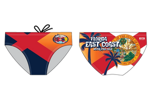 East Coast Water Polo Club Custom Men's Water polo Brief - Personalized