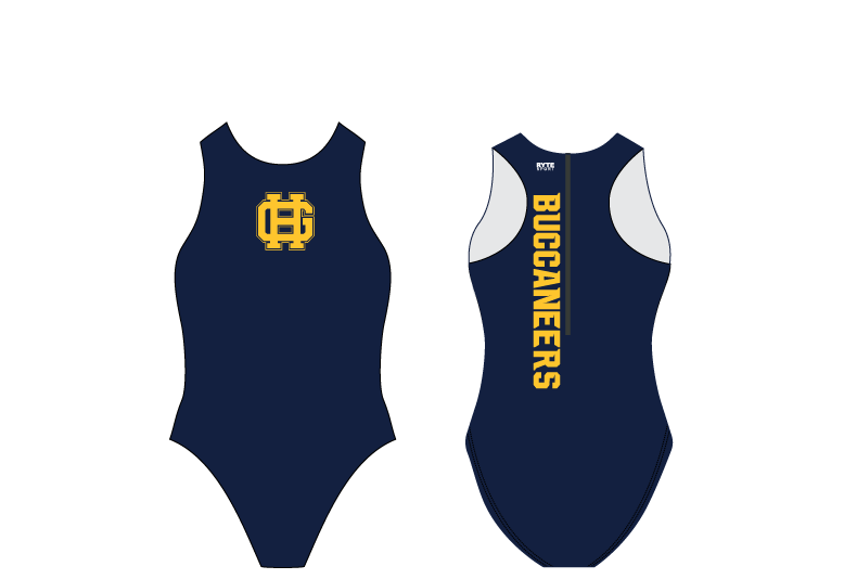 Grand Haven Water Polo 2020 Custom Women's Water Polo Suit - Personalized