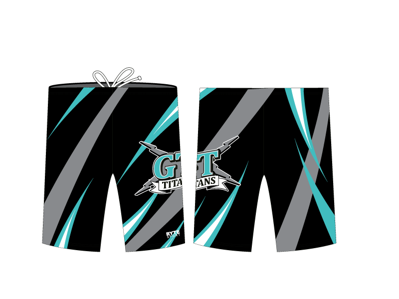Grand Terrace High School Swim 2020 Custom Men's Jammer - Personalized