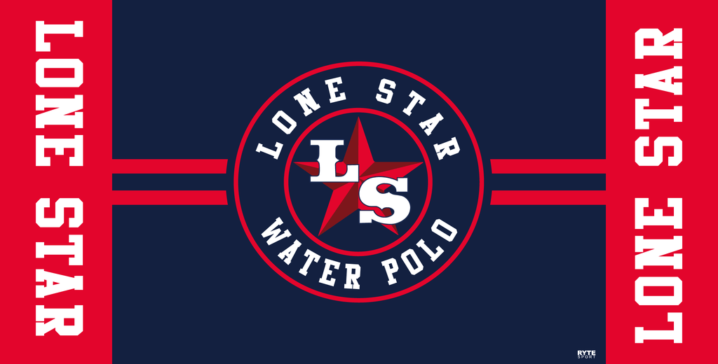 Lone Star Water Polo Club Custom Towel - Personalized