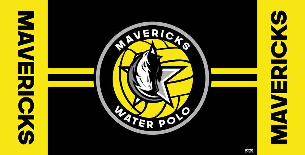 Mavericks Water Polo Club Custom Towel - Personalized