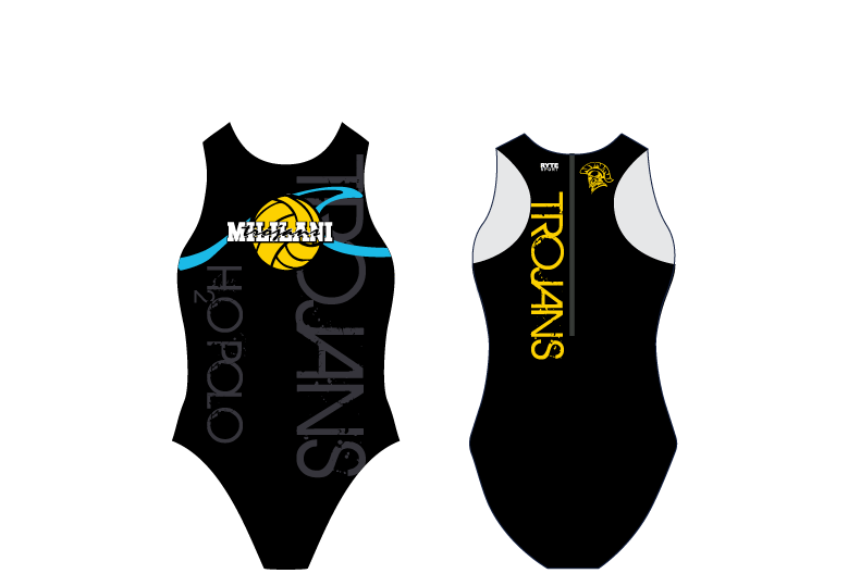 Mililani High School Water Polo 2020 Custom Women's Water Polo Suit - Personalized