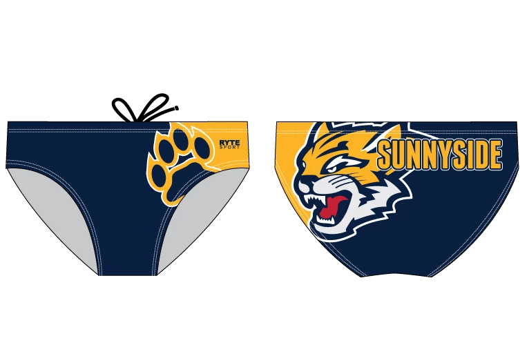 Sunnyside High School Water Polo 2019 Custom Men's Water Polo Brief - Personalized
